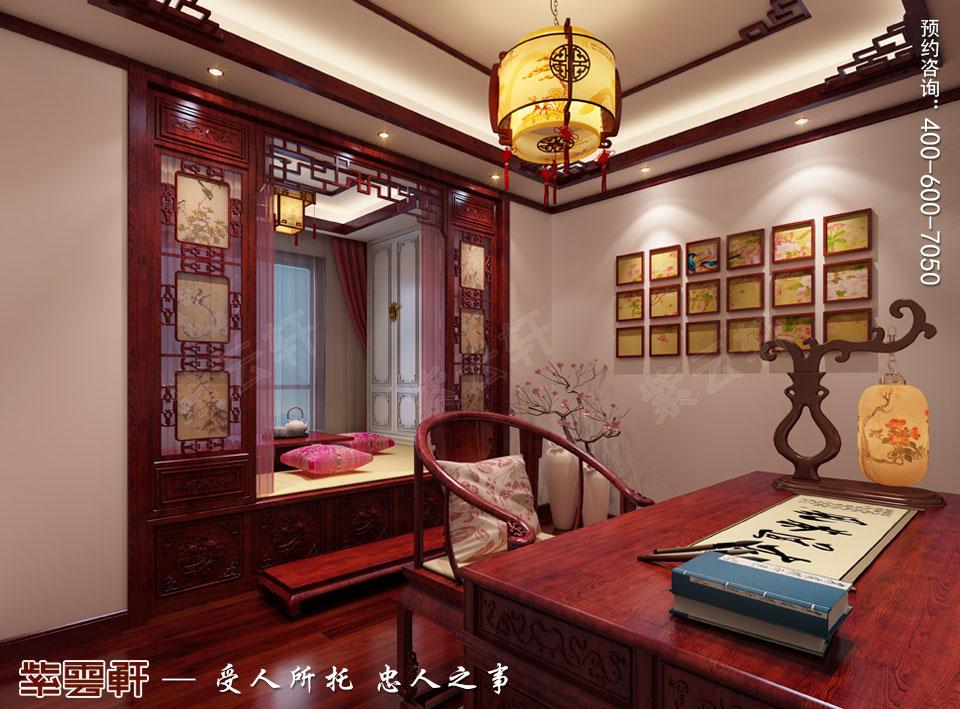 老人房现代简约中式装修效果图