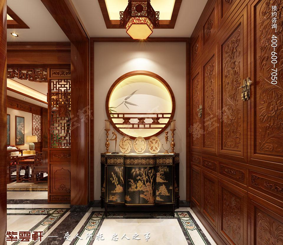玄关传统中式风格装修效果图