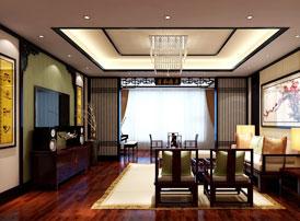 江苏南京新中式装修风格设计 缀织庄重与优雅的颂歌