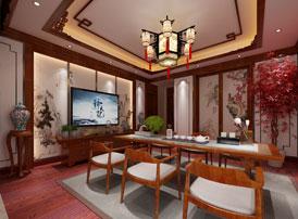 哈尔滨豪华大宅传统中式风格装修 宛若王亲贵族的府邸