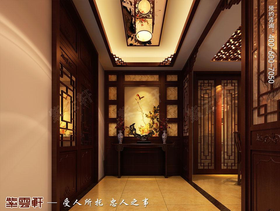 过厅中式设计图