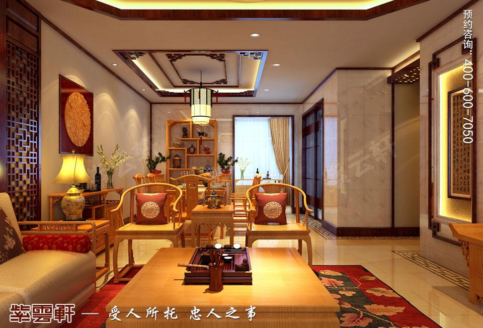 新中式风格装修餐厅效果图