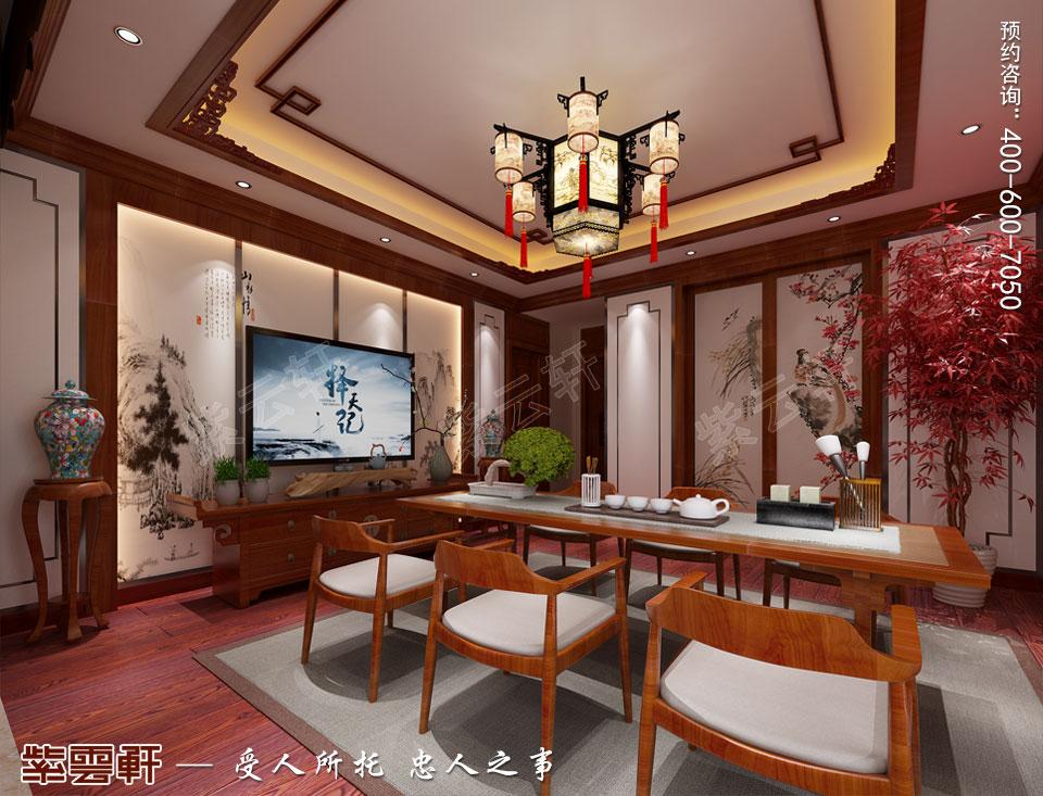 茶室传统中式风格装修效果图