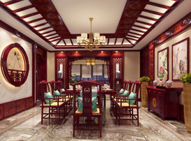 长春豪宅简约古典中式风格装修案例 温情怡人,返璞归真