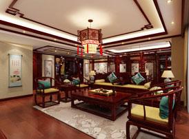 中式装修风格的家居装潢设计,凝练沉稳静谧的禅意之境