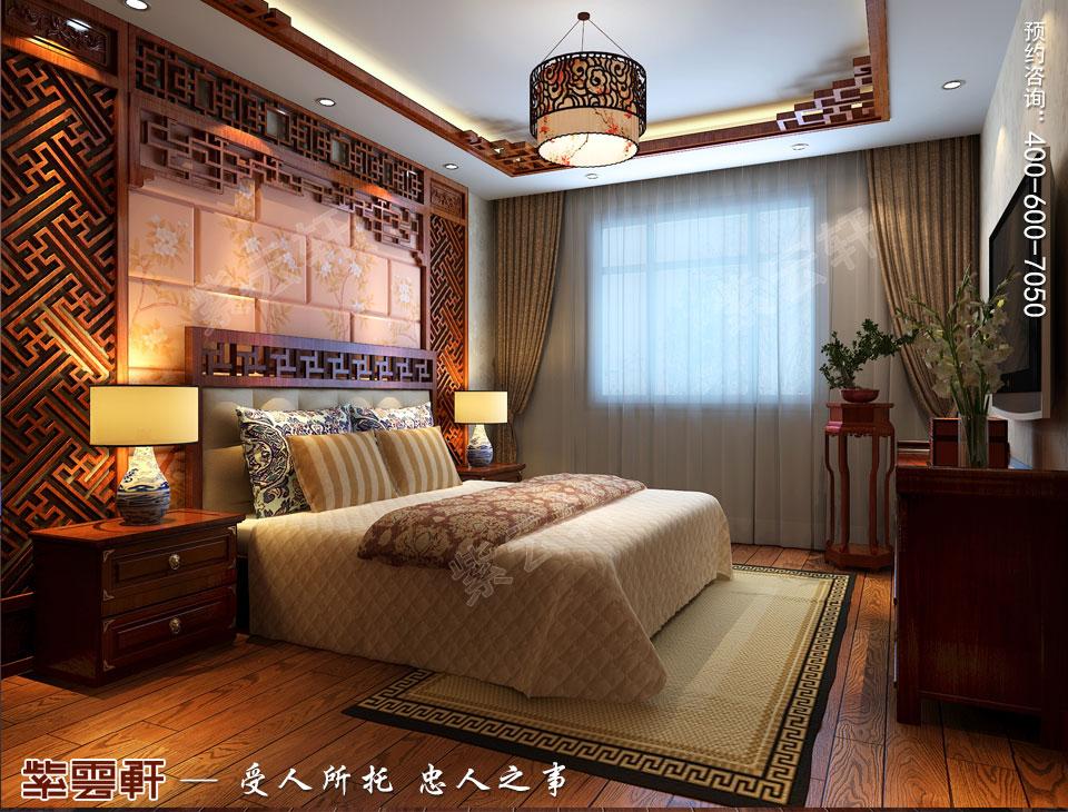 简约古典中式风格次卧装修效果图