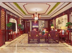 阳泉平层现代中式风格装修  已觉庭宇内,梢梢有余清