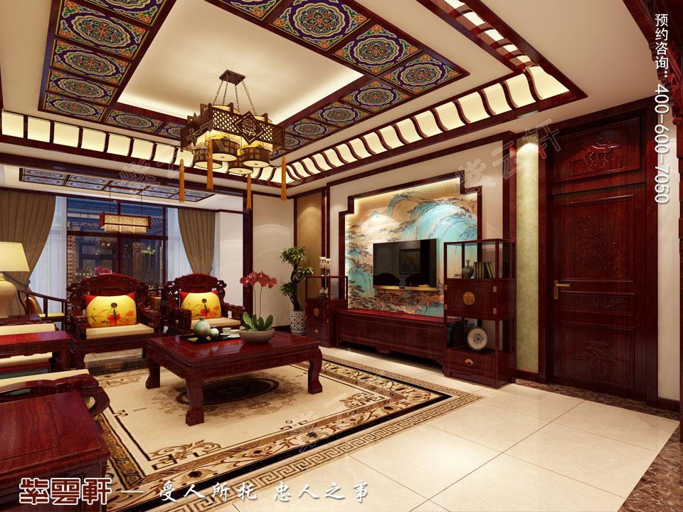 客厅现代中式装修效果图.jpg