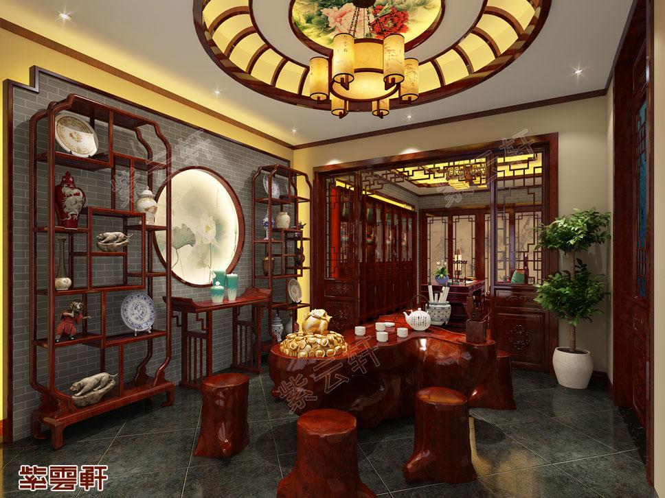 茶室新中式装修