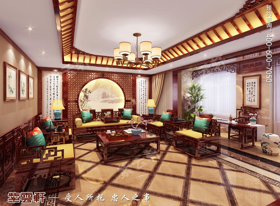 客厅现代中式装修