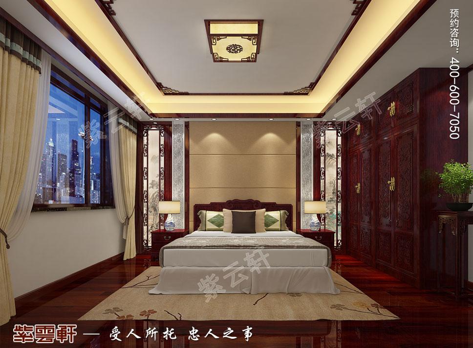 卧室现代中式装修