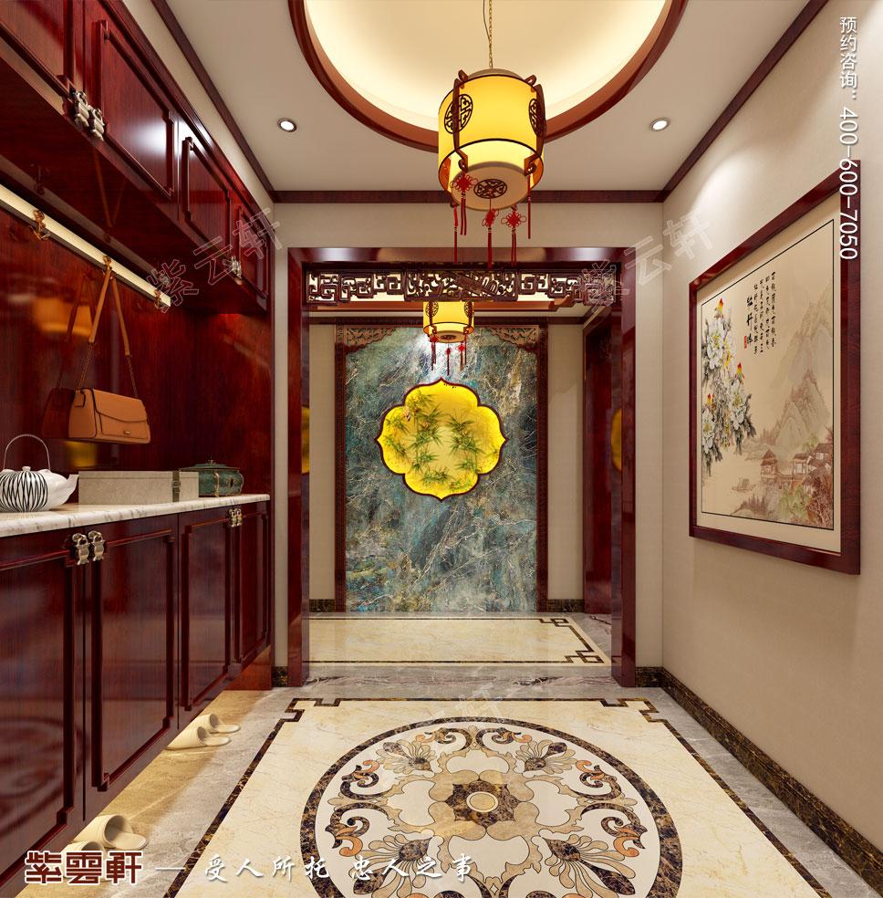 门厅中式装修图片
