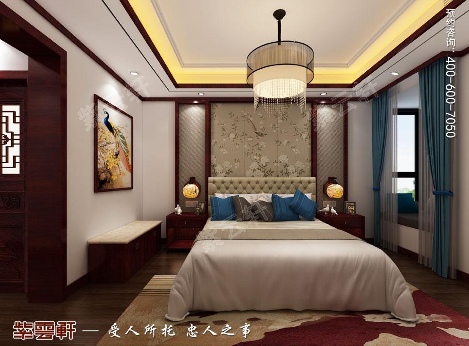 次卧现代中式风格装修