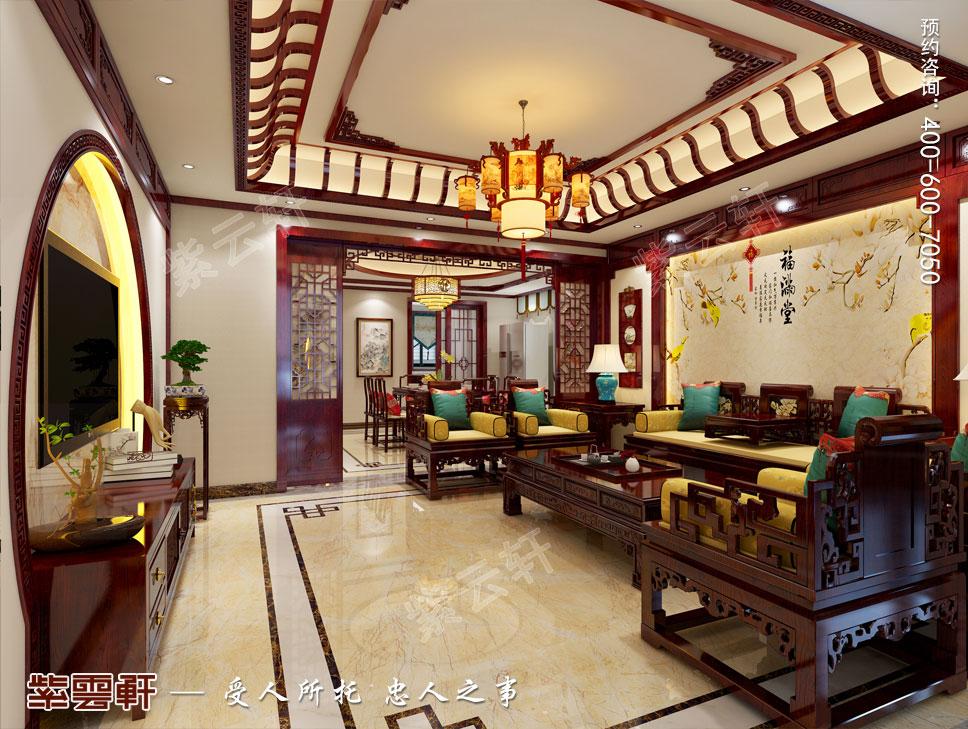 客厅中式装修图片