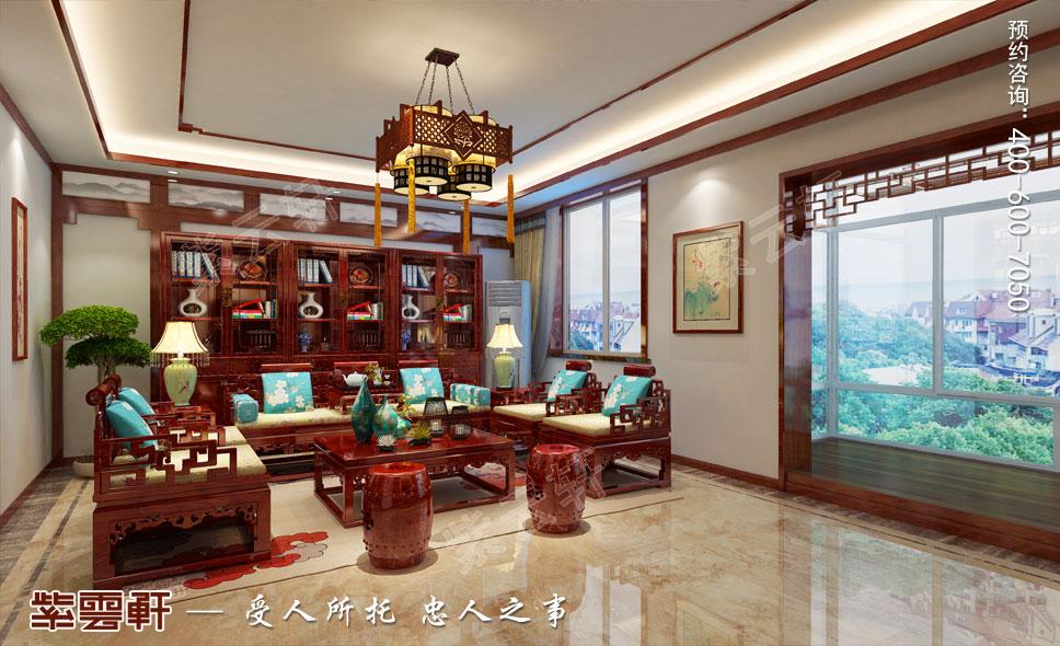客厅现代中式风格装修