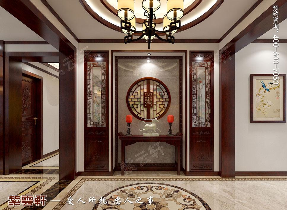 门厅现代中式风格装修