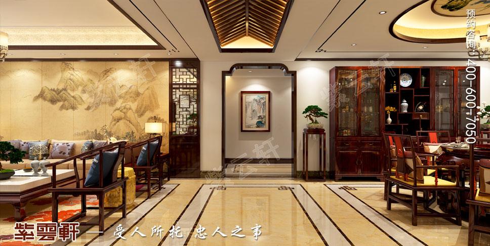 走廊简约古典中式装饰
