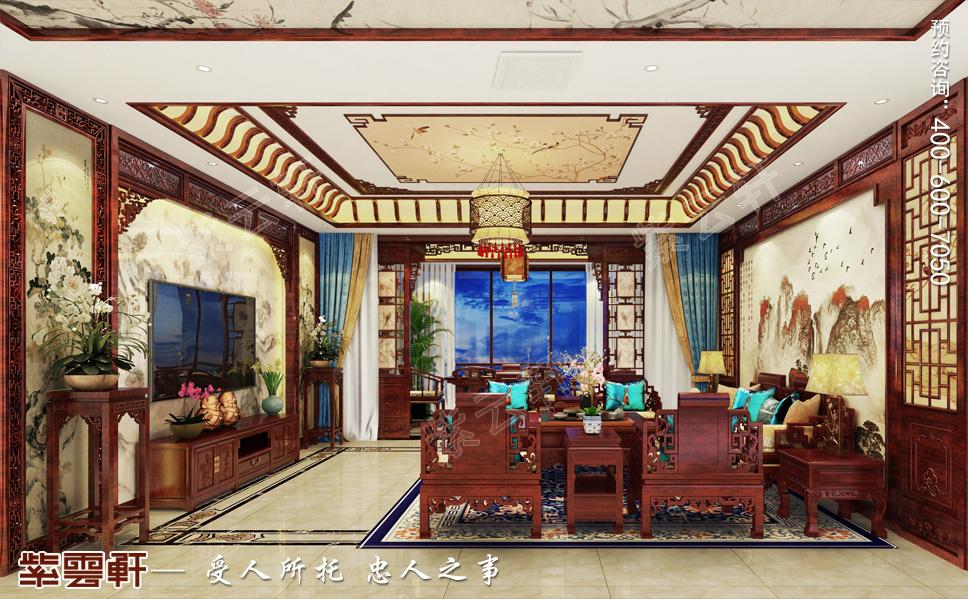 重庆市平层中式装修 优雅大气的东方韵味