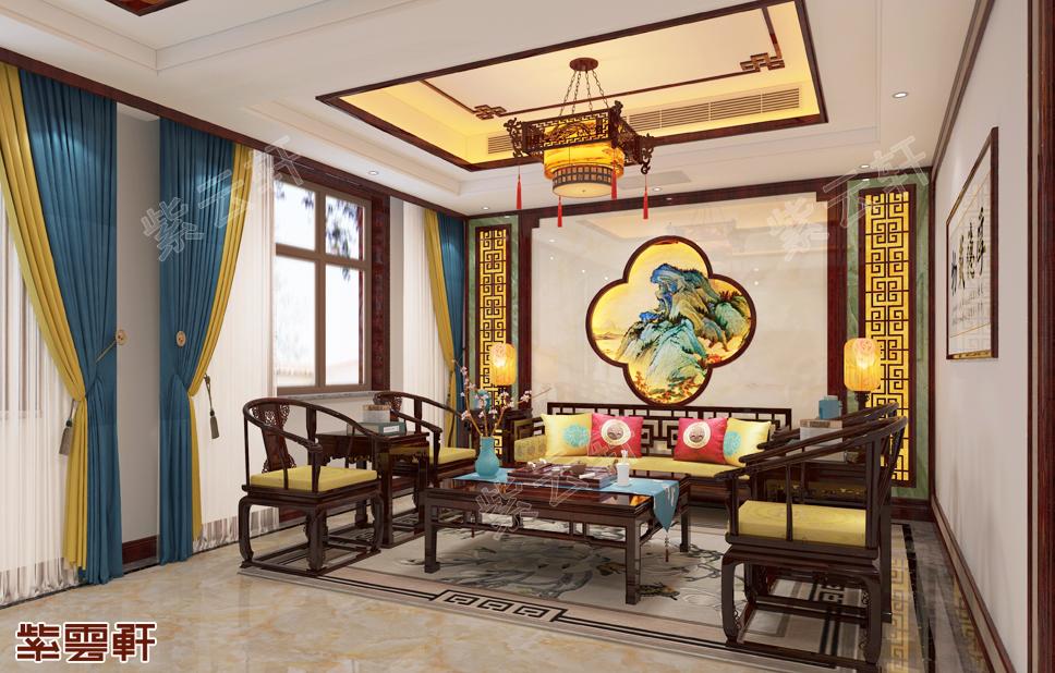 极具东方神韵的客厅中式装修,确定不来看看吗
