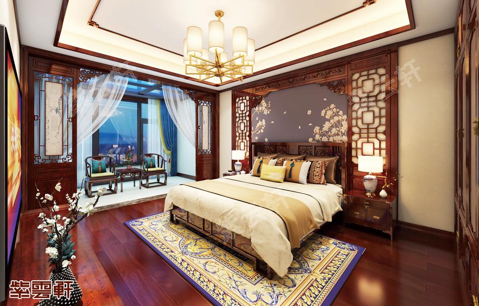 悠享宁静生活,这样的中式装修卧室你满意否