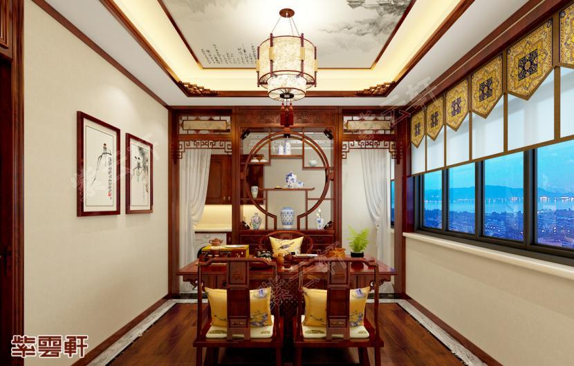 住宅中的茶室中式装修,让生活与众不同