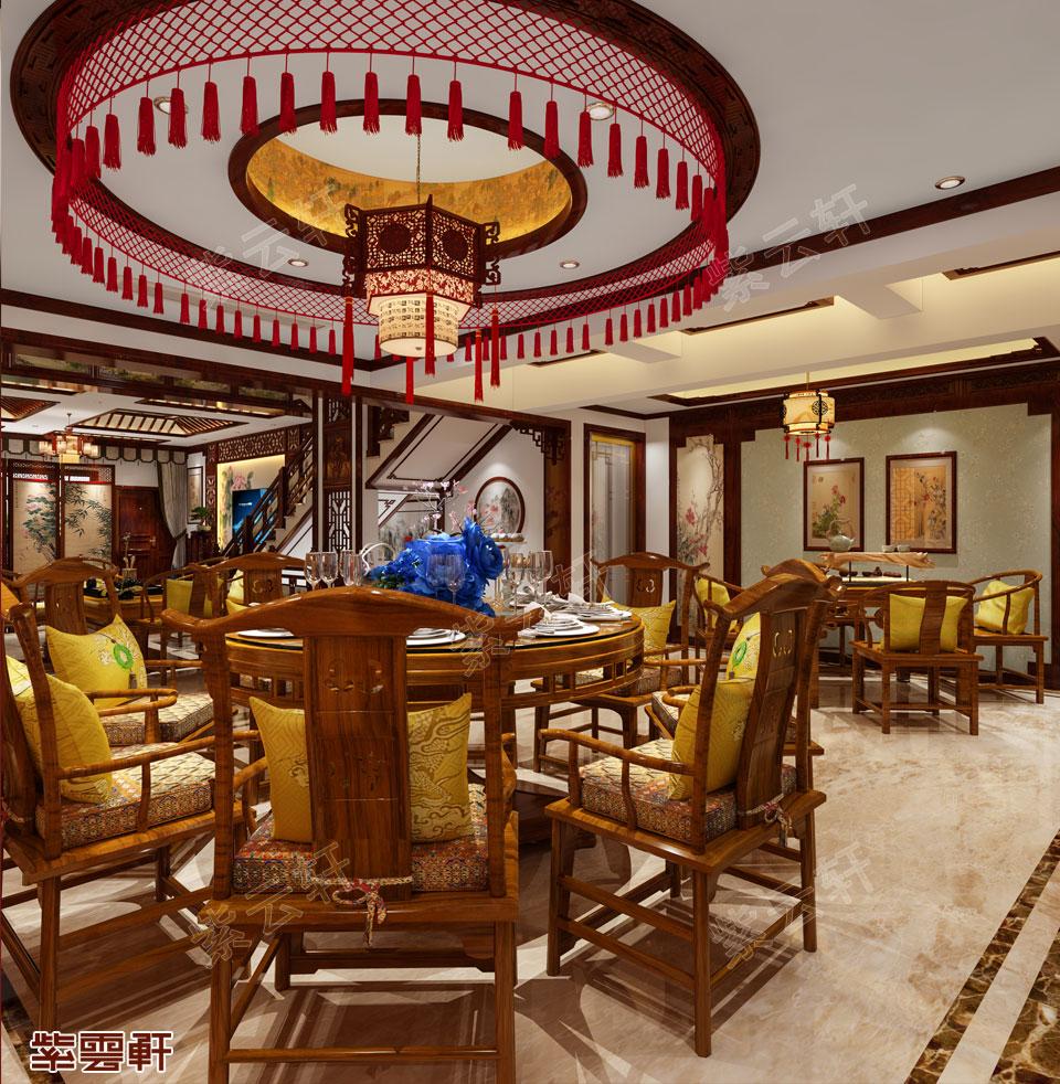 中式设计餐厅
