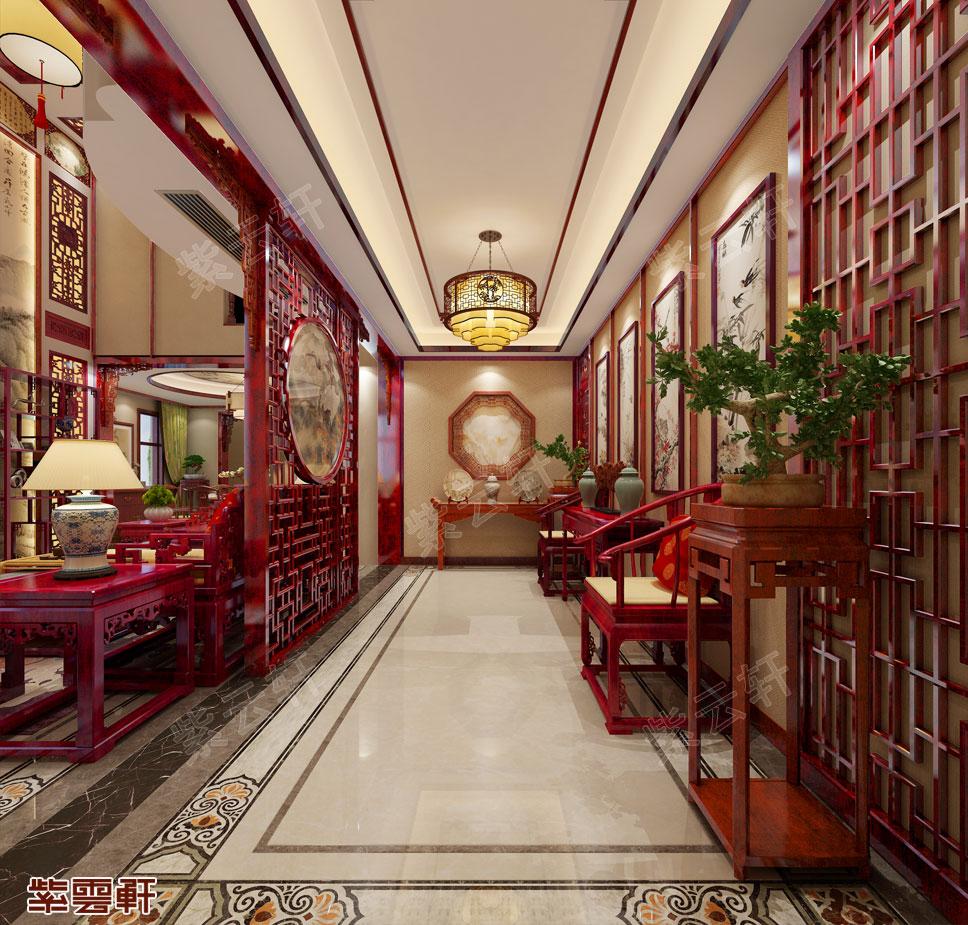 门厅中式装修