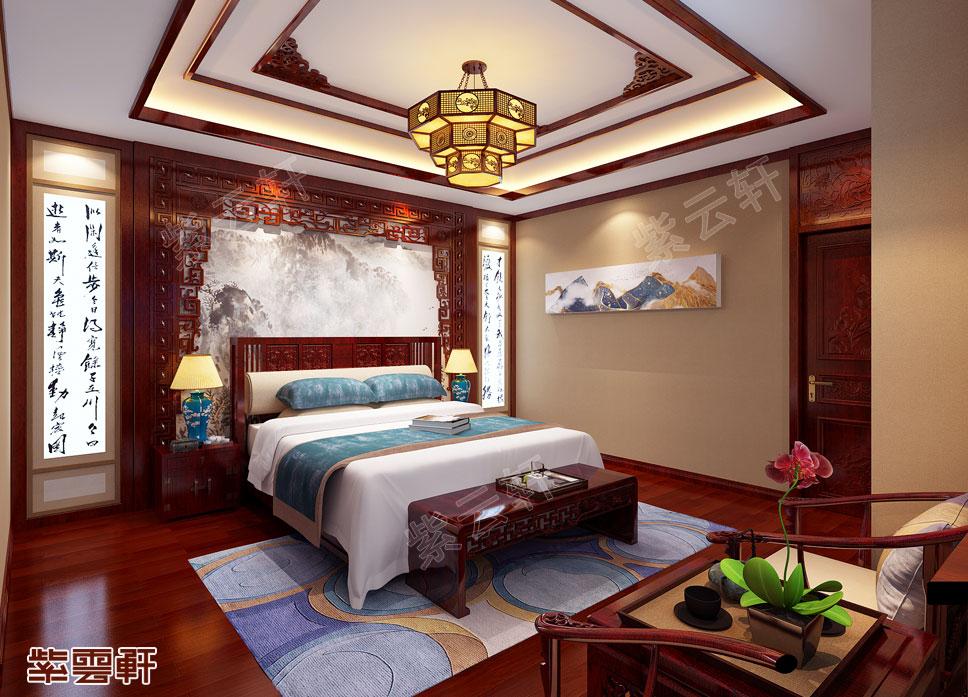 中式装修老人房