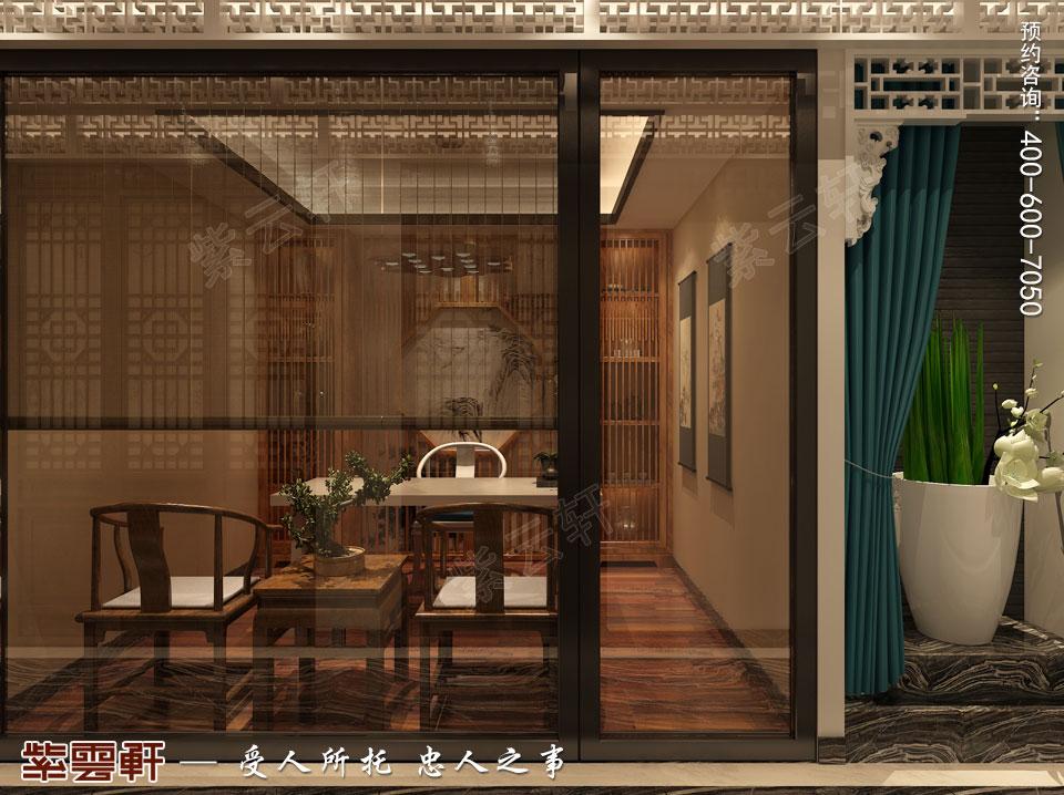 私人会所会客厅新中式风格装修