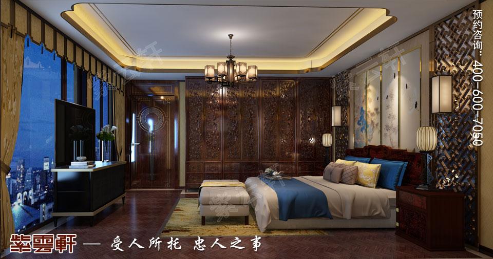 会所客房古典中式风格装修