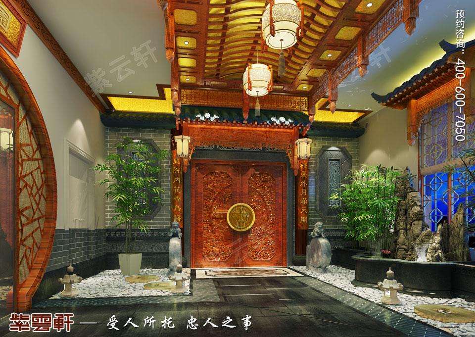 中式装饰之庭院设计
