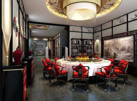 石家庄私人会所复古中式装修效果图,传统建筑元素运用到室内装修的出色设计