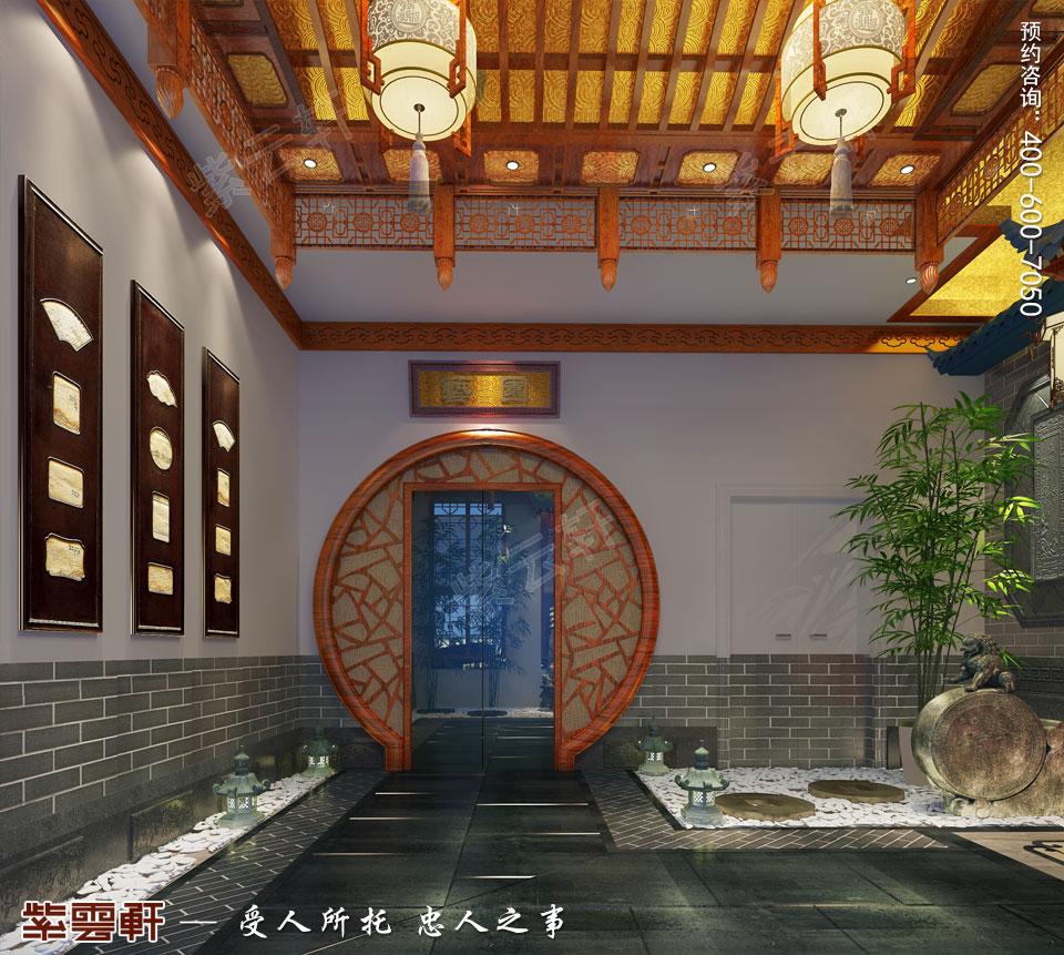 中式装饰之中式院子