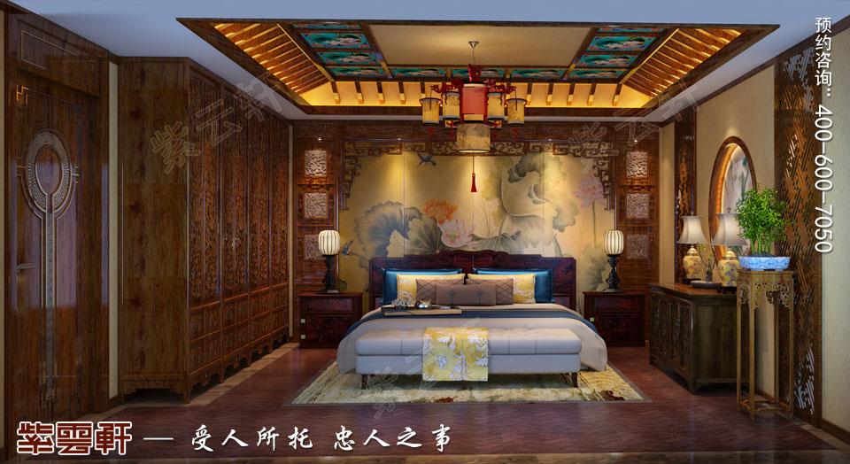 会所卧室古典中式风格装修