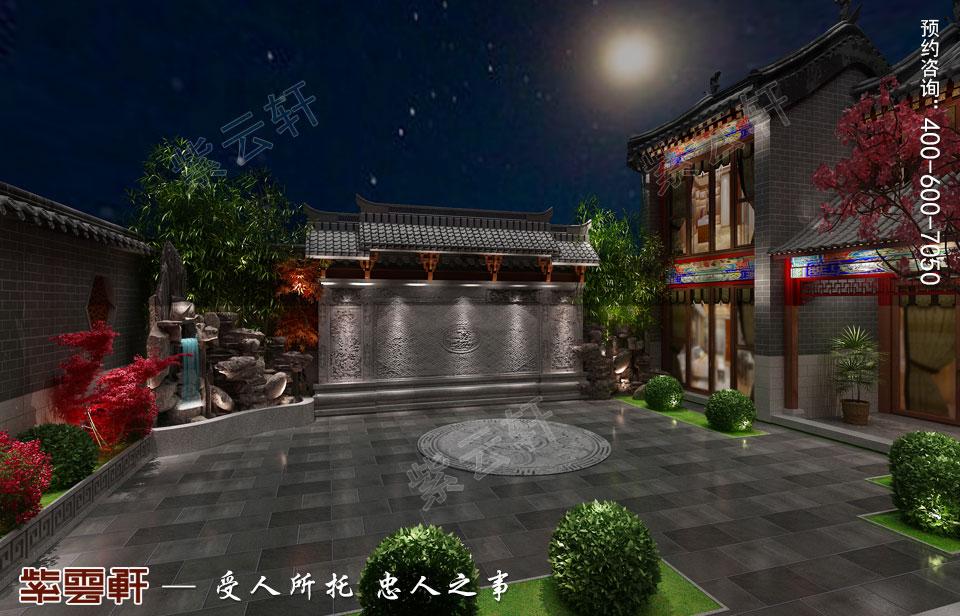会所庭院古典中式风格装修
