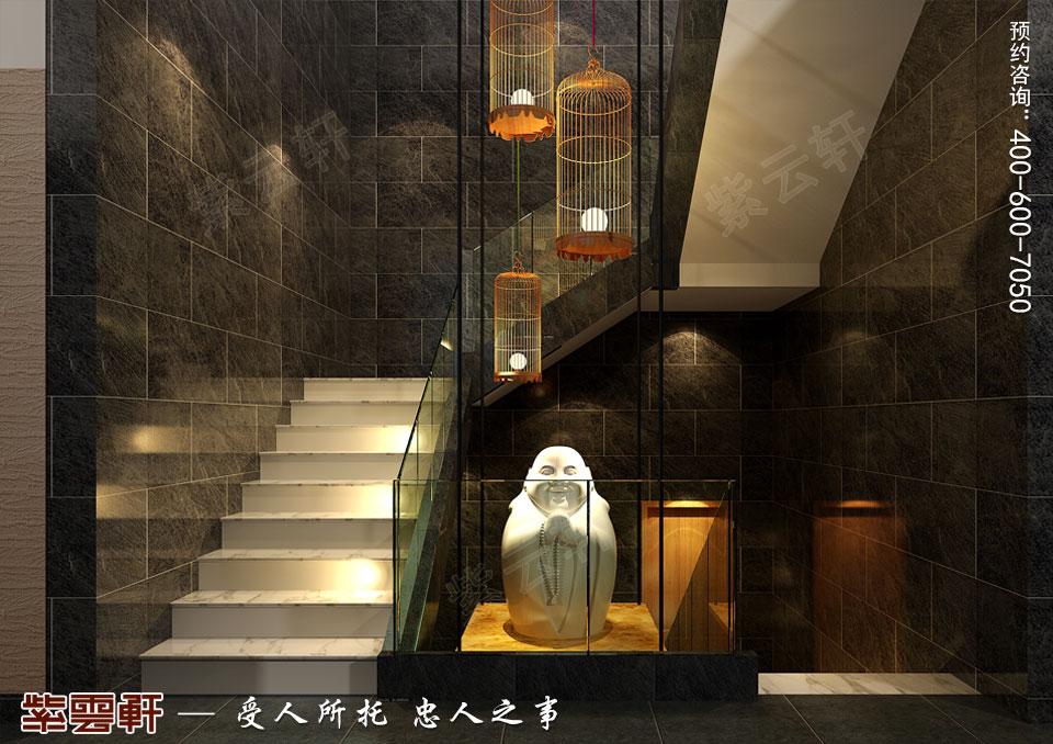 楼梯间现代中式装修.jpg