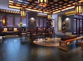 私人顶级奢华红木会所古典中式装修案例 桂殿兰宫,雕梁画栋