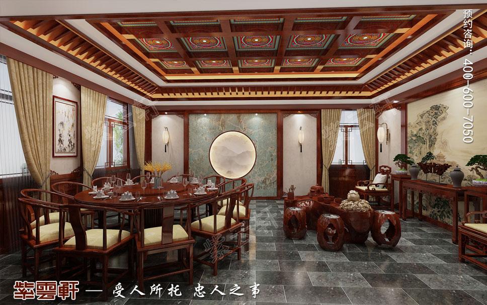 餐厅现代中式装饰效果图