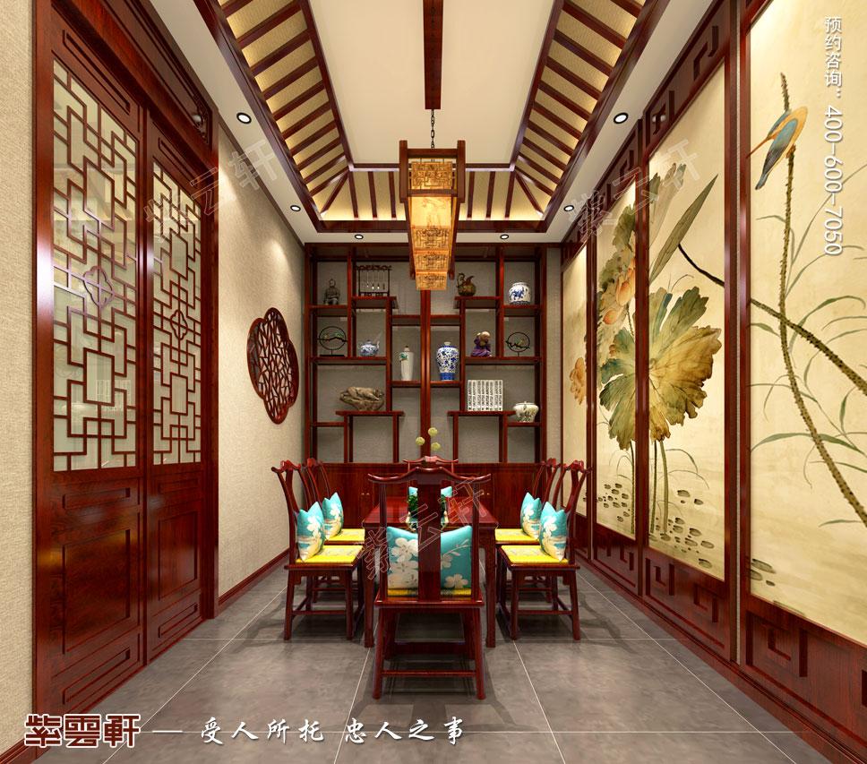 会所茶室中式设计