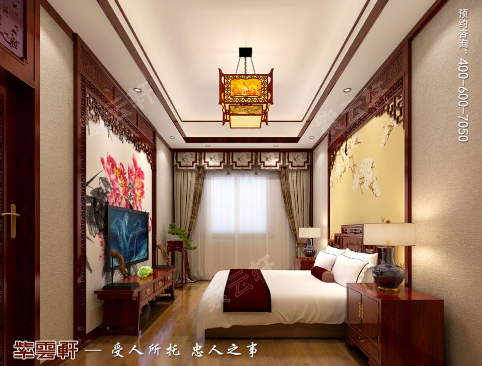 会所卧室中式设计