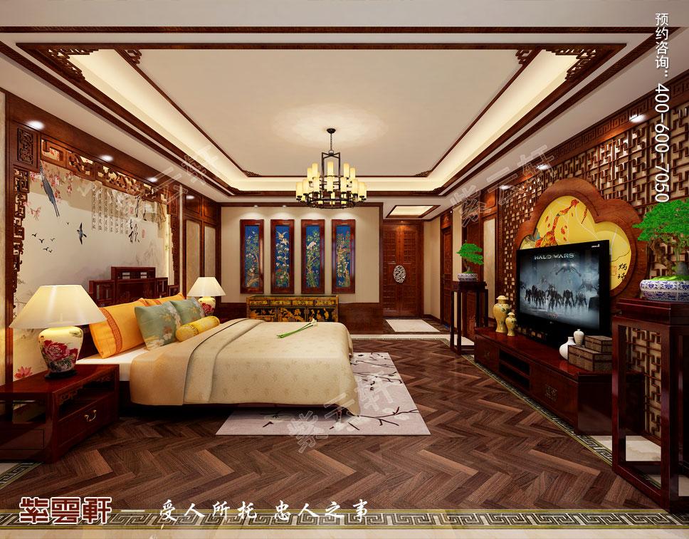 休息室中式装饰图片