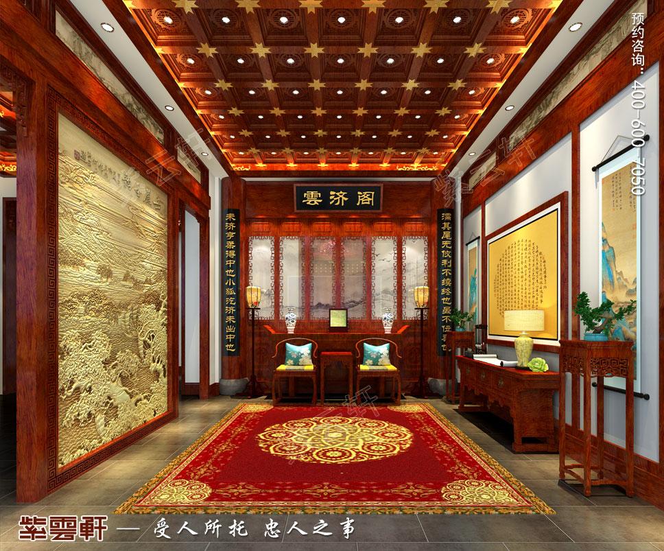 玄关中式装饰图片