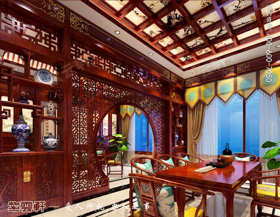 大茶室中式装饰图片