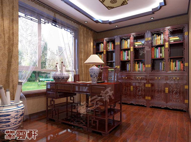 书房中式装修效果图