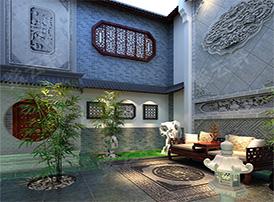 清幽雅致的中式庭院设计,你值得拥有