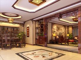 中式装修的公寓展现传统的魅力