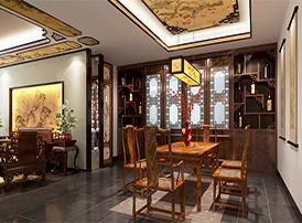 古典茶室装修