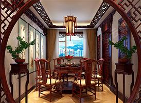 中式餐厅设计因传统文化而更优雅