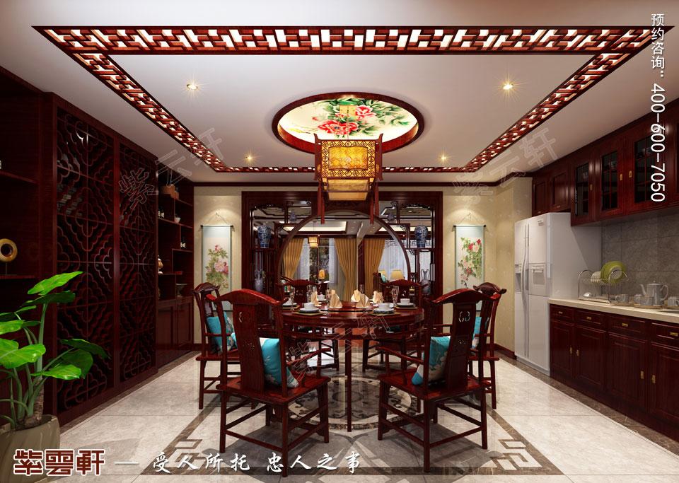 餐厅古典装修效果图