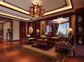 赏仿古豪宅案例,得中式装修韵味
